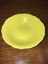 Vintage Federalist Ironstone Lemon Yellow Soup Cereal Bowl Japan REPLACEMENT 6.5