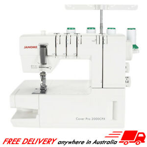 Janome CoverPro 2000CPX Brand New In Box, Cover Stitch, Pro, Hem, Chain, SALE