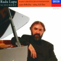 RADU LUPU-SCHUBERT: PIANO SONATAS NOS.13 & 21-JAPAN SHM-CD D20