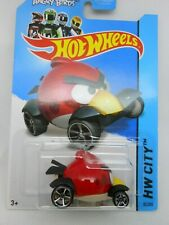2014 Hot Wheels ~ Angry Birds Red ~  HW City ~ Tooned I ~ 82/250
