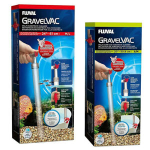 Fluval Gravel Vac Multi Surface Substrate Sand Fish Tank Siphon Cleaner Aquarium
