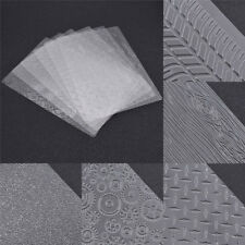 6 Pcs Texture Sheet Set Tyre Mat Cake Mould  Sugar Craft Decoration Cookie Tools