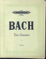 J. S. Bach - Trio-Sonaten I - Urtext - Partitur plus alle Stimmen