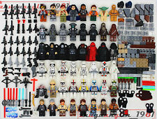 HOT Collectable Star Wars Series 48Pcs Minifigures+Weaponry Building Toys lEGO