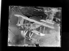 "Glass Negative of a Meccano Aeroplane  4"" x 3"" approx -1912-1916 ish"