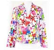 JOSEPHINE CHAUS NWT Floral Blazer Women's Size 4 Petite Stretch Lined