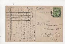 Mr T Grimshaw Linden Street Dewsbury Road Huddersfield 1913 470b