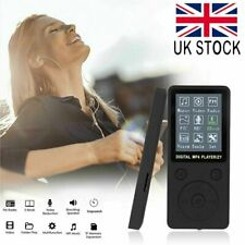 Digital MP3 Player MP4 Media FM Radio Recorder HIFI Sport Music Speaker UK