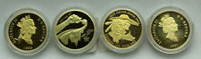 (4) Canadian Gold Coin Lot Commorative 1988,1989,1990,1991