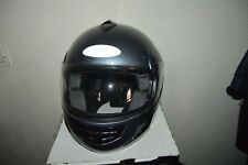 CASQUE MOTO B-SQUARE  TAILLE S 55/56 HELMET/CASCO + VISIERE & MOUSSE XS NEUF