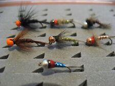 14 ninfas surtidas, anzuelo sin muerte #14 y #16 Pesca a mosca. FLY FISHING (59)