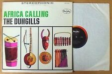 THE DUNGILLS - AFRICA CALLING - VEE JAY LBL - STEREO LP