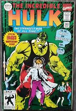 THE INCREDIBLE HULK #393 - Green Foil 30th Anniversary Keown Cover - NO RESERVE