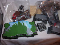 Mega Bloks Accessory Pieces Building Engineering Toys