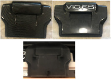 Engine Top Cover Panel - Vanity Plate for  Audi R8- Carbon Fiber look - V8 -V10
