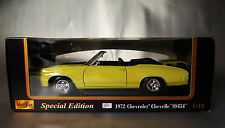"""6474:MAISTO, 1972, Chevrolet Chevelle """"SS454"""",Special Edition, in OVP."""