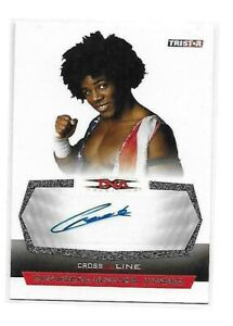 Xavier Woods New Day 2008 TNA Cross the Line Autograph Consequences Creed