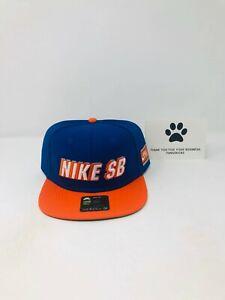 Nike SB x NBA Pro Snapback 'Knicks' Hat Blue Cap BV0488-495