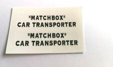 Lesney/Matchbox No A2 Bedford Articulated Car Transporter decal set only pre-cut
