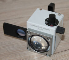 Leitz Mikroskop Microscope Variolum mit Schieber für Beleuchtung (Nr. 514 614)
