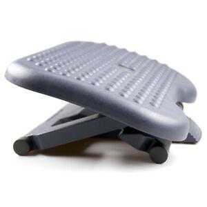 Footrest Under Desk Foot / Leg Rest for Office Chair Ergonomic Computer Plastic
