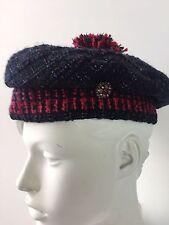 Chanel hat beret  AMAZING Gripoix ! NWT