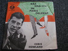 Chris Howland-Das hab ich in Paris gelernt 7 PS-1959 Germany-Columbia-C 21 095