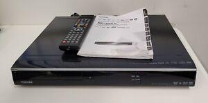 TOSHIBA RD100 320GB HDD & DVD Recorder Freeview+ HDMI RD100KB HDMI DivX DVB PVR
