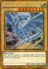 YuGiOh Card - BLUE-EYES WHITE DRAGON MVP1-ENGV4  SECRET