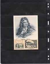 France Carte maximum  B343  Boileau (  lot 2044 )