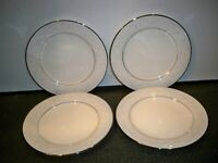 4 NORITAKE IVORY CHINA ''TRUDY'' #7087 BREAD AND BUTTER   PLATES  6 3/8''