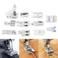 11* Multi Function Domestic Sewing Machine Presser Foot Feet Set Kit  gift best