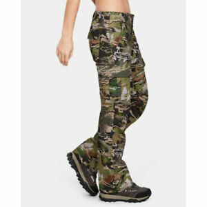 Under Armour Women's Storm Hunting Camo Pants 1254097-940 Camouflage NWT