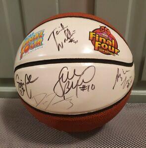 2002 Womens Final Four Basketball Uconn Huskies Auto Signed Ball Sue Bird +MORE