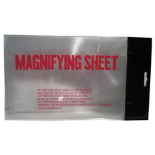 Magnifier Lens Full Page Magnifying Sheet Reading Books Glass Vision New Loupe !