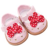 Vêtement de Poupée Chaussures Animés en Cuir PU Décoration pour Poupées