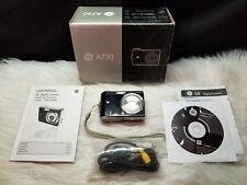 GE A730 7MP Digital Camera with 3x Optical Zoom (Black)