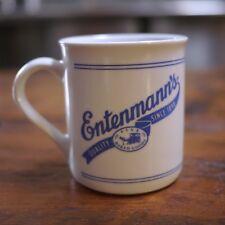 "Vintage Entenmann's ""Fine Baked Goods"" Thick Sturdy Porcelain Coffee Tea Mug"