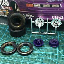 Weld Aluma Star Race Wheels W Goodyear Slicks Unbuilt Rvl 125 Lbr Model Parts