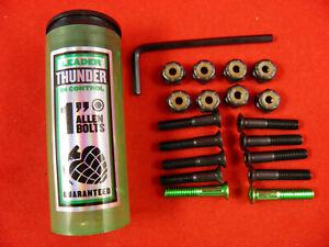 """Thunder Allen Hardware Bolts Skateboard 1"""" Hardware"""