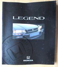 HONDA LEGEND COUPE & SALOON orig 1991 UK Mkt Large Format Sales Brochure