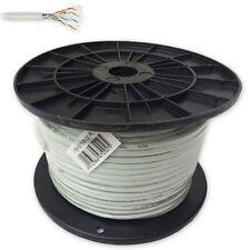 CAT.5 FTP Kupfer LAN Kabel, Verlegekabel 100 m  Datenkabel Netzwerkkabel Kat 5