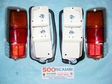 FIAT 500 F/L/R COPPIA FANALE POSTERIORE SX DX COMPLETO LISCIO TIPO ALTISSIMO