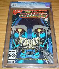 Crisis on Infinite Earths #6 CGC 9.6 key book 1ST WILDCAT george perez art dc