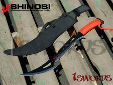 "Shinobi 24"" Full TANG Red Dragon Tail SWORD APOCALYPSE MACHETE Sharp Two-Tone"
