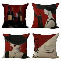 New Fashion Women Pillow Case Sofa Waist Throw Cushion Cover Home Decor Gift