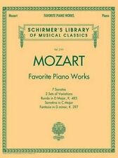 Mozart: Favorite Piano Works (Schirmer's Library of Musical Classics) - 30% Off!