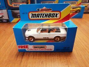Matchbox MB 39 BMW 323i Cabriolet.