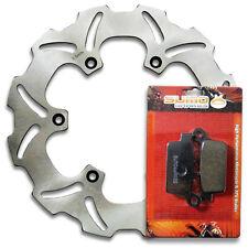 Yamaha Rear Brake Rotor + Pads YZ 125 & YZ 250 [1998-2001] WR 400 F [1999-2001]