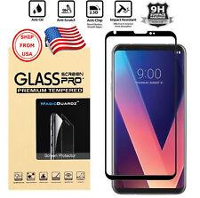 Protector de Pantalla Cristal Vidrio GENUINO Para LG V30